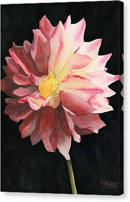 Dahlia Canvas Print by Ken Powers