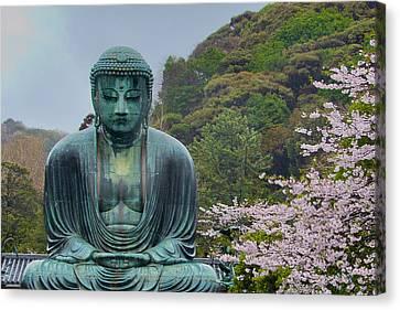 Daibutsu Buddha Canvas Print by Alan Toepfer