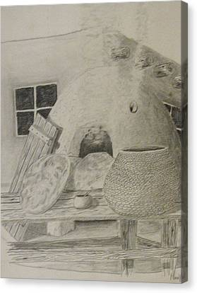 Daily Bread Canvas Print by BD Nowlin