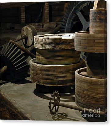 Canvas Print featuring the photograph Daily Bread by Lee Craig