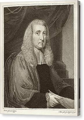 Daines Barrington Canvas Print by Middle Temple Library
