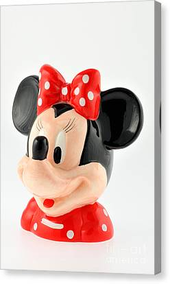 Puppets Canvas Print - Minnie Mouse by George Atsametakis