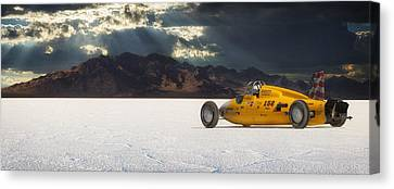 Salt Flats Canvas Print - Dakota 158 by Keith Berr