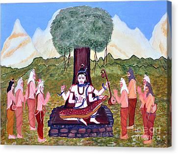Dakshinamurty Canvas Print