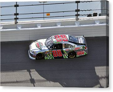 Jr Motorsports Canvas Print - Dale Earnhardt Jr by Jason Loving