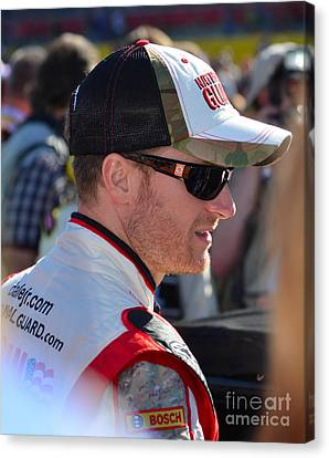 Dale Earnhardt Jr. Canvas Print
