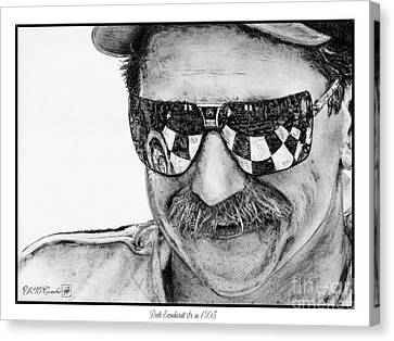 Dale Earnhardt Sr In 1995 Canvas Print