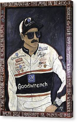 Dale Earnhardt Sr. - The Intimidator Canvas Print by Eric Cunningham
