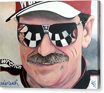Dale Earnhardt Sr Canvas Print