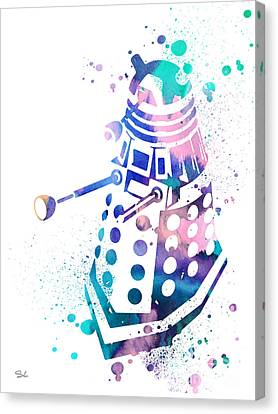 Dalek 2 Canvas Print by Luke and Slavi