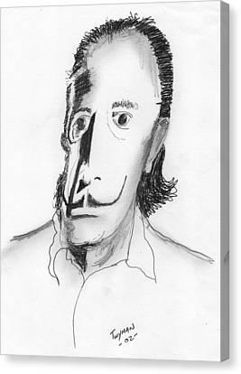 Dali Canvas Print by Dan Twyman