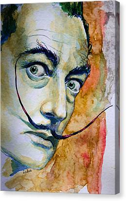 Canvas Print featuring the painting Dali by Laur Iduc