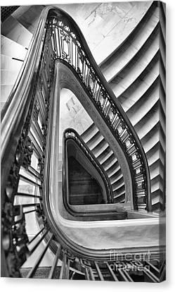 Dali Stairs Canvas Print