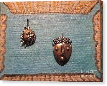 Dali Stop Poking My Eye Eye Separatist Movement Jewelry Art Pair Canvas Print
