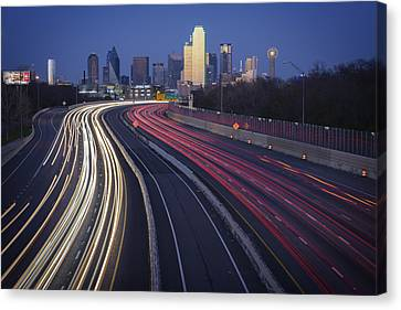 Dallas Afterglow Canvas Print