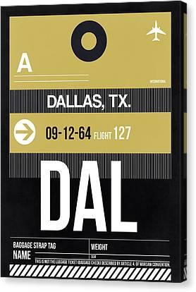 Dallas Airport Poster 2 Canvas Print by Naxart Studio