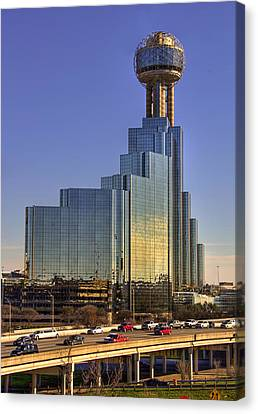 Dallas Architecture Canvas Print