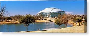 Dallas Cowboy Stadium Canvas Print by Panoramic Images