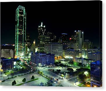 Dallas Hdr 007 Canvas Print by Lance Vaughn