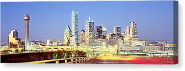 Dallas Texas Usa Canvas Print by Panoramic Images