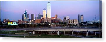 Dallas Tx Canvas Print by Panoramic Images