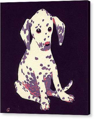 Dalmatian Puppy Canvas Print
