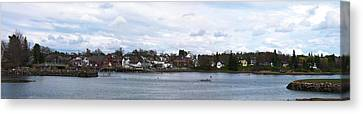 Damariscotta  Canvas Print by Guy Whiteley