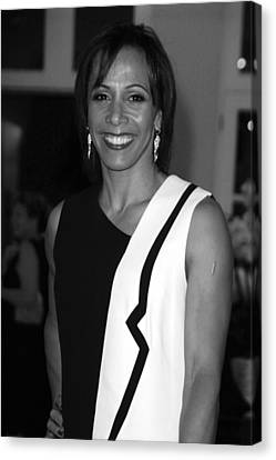 Dame Kelly Holmes 1 Canvas Print by Jez C Self