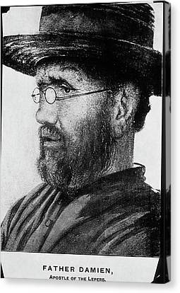 Damien De Veuster Canvas Print by National Library Of Medicine