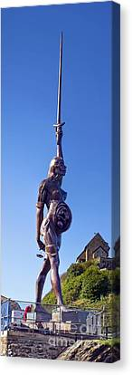 Damien Hurst's Verity Statue Canvas Print by Dr Keith Wheeler