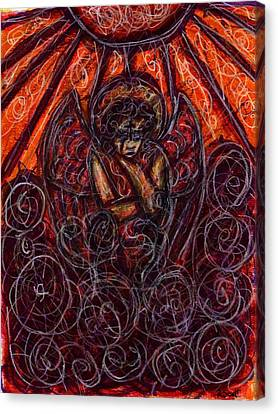 Damnation Canvas Print by Rachel Scott