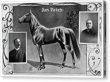 Dan Patch (1896-1916) Canvas Print by Granger