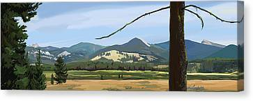 Danaher View Panorama Canvas Print