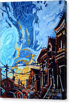 Dana's Sky Canvas Print by Michael Ciccotello