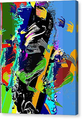 Dance 1 Canvas Print by Jame Hayes