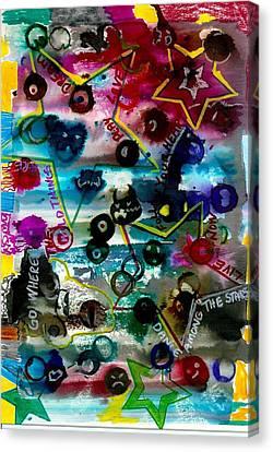 Dance Among Stars Canvas Print