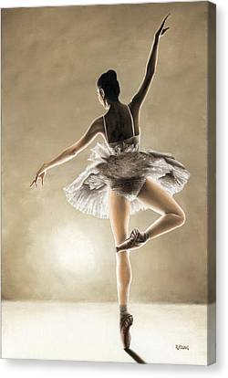 Dance Away Canvas Print by Richard Young