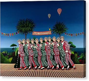 Dance Competition Canvas Print by Anthony Southcombe