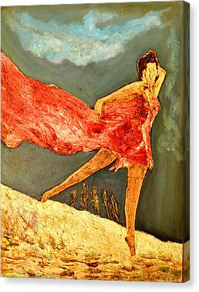 Dance Dance Dance Canvas Print by Anand Swaroop Manchiraju