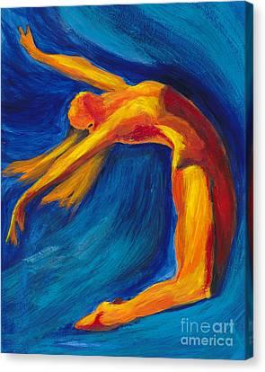 Dance Canvas Print by Denise Deiloh