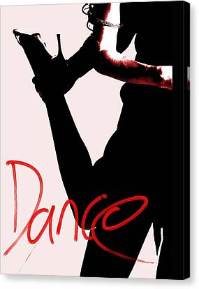 Dance Canvas Print by Doug Walker