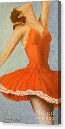 Dance Fever... Canvas Print by Elena  Constantinescu