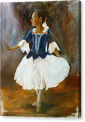 Canvas Print featuring the painting Dance For Papa by Rick Fitzsimons