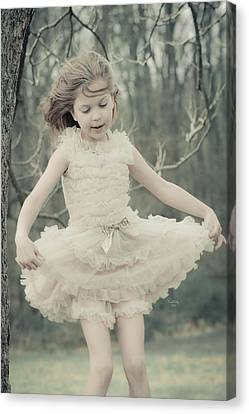 Ballet Canvas Print - Dance Like Nobody's Watching by Trish Tritz