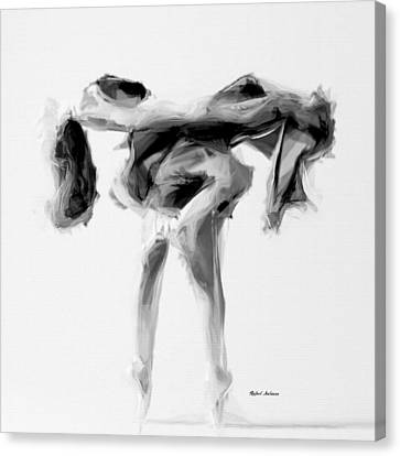 Dance Moves II Canvas Print by Rafael Salazar