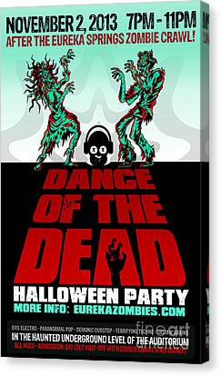 Dance Of The Dead Poster 2013 Canvas Print