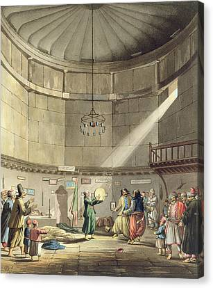 Dance Of The Dervishes, Plate 3 Canvas Print