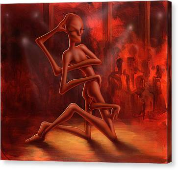 Dance Of The Medusa Canvas Print by Achim Prill
