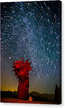 Dance Of The Star Serpent Canvas Print