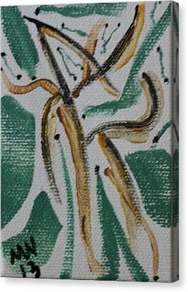 Dance Of The Woodland Fairies Canvas Print